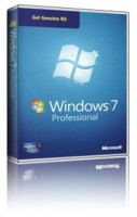 Microsoft Windows 7 Professional CZ SP1, legalizační sada (GGK)