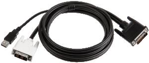 InFocus M1 na DVI-D/USB-Kabel