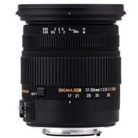 Sigma EX 2,8/17-50 DC OS N/AF HSM pro Nikon