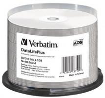 Verbatim DVD-R(50-pack)/ 16x/ 4, 7GB/ ThermoPrintable