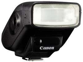 Canon Speedlite 270EX II - Přídavný blesk (hot-shoe clip-on) - 27 (m) - pro EOS 100, 1200, 650, 70,