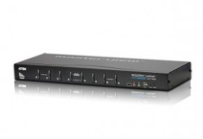 ATEN KVM switch CS-1768 DVI, 8PC, 2xUSB hub, Audio