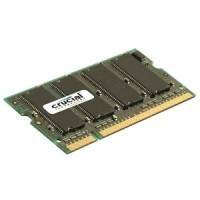 Crucial 1GB DDR 400MHz PC3200 / UDIMM 200pin / CL3