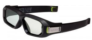 NVIDIA 3D Vision2 (3D brýle) pouze brýle, bez receiveru, pro 120Hz LCD a 100/120Hz CRT (942-11431-0005-001)