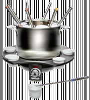 Unold 48645 Elektrický fondue set pro 8 osob Elegance