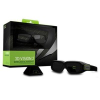 NVIDIA 3D Vision2 (3D brýle) vč. receiveru pro 120Hz LCD a 100/120Hz CRT, bezdrátové - rozbaleno