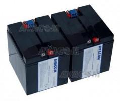 Baterie Avacom RBC55 bateriový kit - náhrada za APC - neoriginální