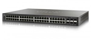 Cisco SG500X-48 48x10/100/1000, 4x10Gig SFP+ Stackable Managed Switch