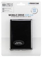 FREECOM HDD Mobile Drive XXS 3.0 500GB USB 3.0