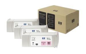 cartridge HP C5077A - light magenta - originální, No.83 UV Multipack 3x680 ml