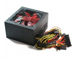 HKC V-Power 650 Watt ATX Power Supply PFC + 120mm FAN