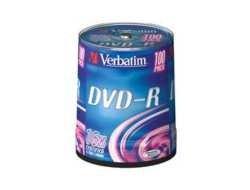 Verbatim V43549 100ks, DVD-R disky