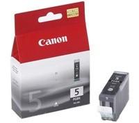 Canon inkoustová náplň PGI-5Bk/ černá