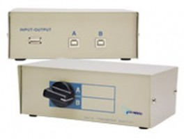 OEM Datový přepínač 2-1 mechanický, USB