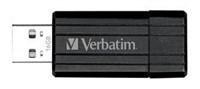 "VERBATIM USB Flash Disk Store ""n"" Go PinStripe 4GB - černá"