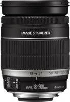 Canon EF-S - Zaostření objektivu - 18 mm - 200 mm - f/3.5-5.6 IS - Canon EF-S - pro EOS 1000, 40, 4