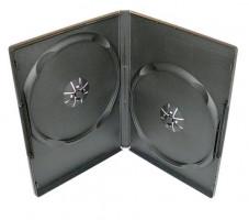 Obal box na 2 DVD, 9 mm, černý