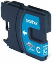 Brother inkoustová náplň LC-980/ Modrá
