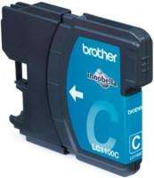 Brother inkoustová náplň LC-1100C/ Modrá
