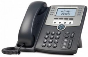 Cisco 12-Line IP Phone s Display, PoE and PC Port