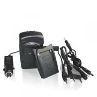 Whitenergy nabíječka pro Fujifilm NP50 800mA s výměnným adaptérem - neoriginální