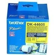 Brother páska DK 44605 (papírová role žlutá 62mm x 30,48m) - snadno odstranitelná