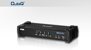 Aten 4 port DVI KVMP USB, 2port USB HUB, audio