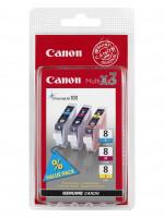 Canon multipack inkoustových náplní CLI8-C+M+Y