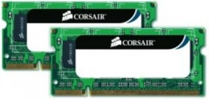 Corsair 4GB (Kit 2x2GB) 1333MHz DDR3 SODIMM (pro NTB)