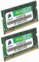 Corsair 8GB (Kit 2x4GB) 800MHz DDR2, CL6 (6-6-6-18) SODIMMs (pro NTB)