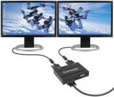 MATROX DualHead2Go, Dual Digital Edition, HD15 input, 2xDVI output, USB powered