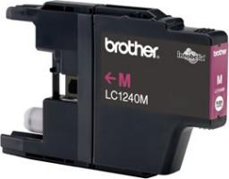 Brother inkoustová náplň LC-1240M/ Červená/ 600 stran