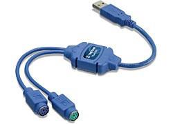 TRENDnet USB to PS/2 Converter