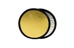 Lastolite 1234 reflektor 30 cm stříbrná/zlatá