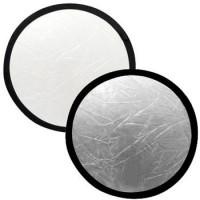 Lastolite 2031 reflektor 50 cm stříbrná/bílá