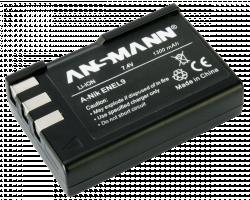 Ansmann baterie Nikon EN EL 9 neue verze - neoriginální