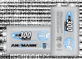 Ansmann maxE NiMH Akku 300 9V 270 mAh, dobíjecí