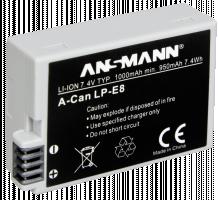 Ansmann baterie Canon LP-E 8 - neoriginální