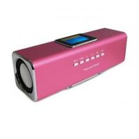 Technaxx MusicMan MA Display růžová barva (3544)