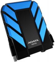 """ADATA Externí HDD 1TB 2,5"""" USB 3.0 DashDrive™ Durable HD710, modrý"""