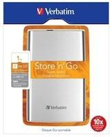 "VERBATIM HDD 2.5"" 1TB Store ""n"" Go USB 3.0 , stříbrný"