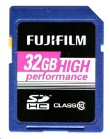 Fujifilm 32GB SDHC Karte vysoký výkon / Class 10