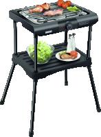 Unold 58550 Elektrický barbecue gril Rack - černá barva