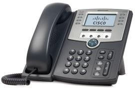 Cisco SPA514G, 4 Line IP Telefon s diplejem, PoE a Gigabit PC Port