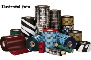 Zebra páska Červená pro Zebra P310c, P310m, P330m, P330i, P340i - 1000ks