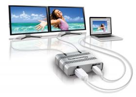 MATROX DualHead2Go Digital ME, mini DP, Thunderbolt output