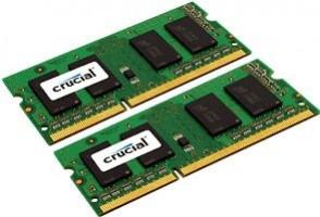 Crucial 4GB (2x2GB) DDR3 1066 MT PC3-8500 SODIMM 204pin pro Mac