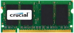 Crucial 8GB DDR3 1333 MT/s CL9 PC3-10600 SODIMM 204pin pro Mac