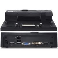 DELL EURO2 Simple E-port replikátor/ jednoduchý/ dokovací stanice/ 130W AC adap./ USB 3.0/ s nap. kabelem/ pro Latitude