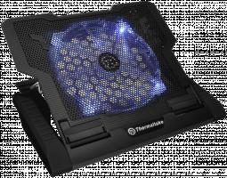THERMALTAKE CLN0020 Massive 23 GT černá barva Edition/Notebook Cooling/17 inch/ 230mm Fan/ černá barva